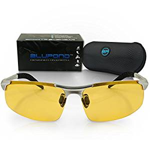 2fd92c11d5 BLUPOND TITAN Polarized Metal Frame Sports Sunglasses for Driving ...